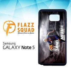 lionel messi new style Z4030 Samsung Galaxy Note 5 Case