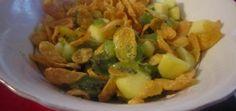 Sałatka owocowa z płatkami kukurydzianymi - main