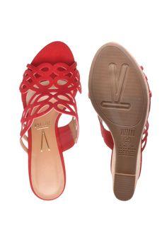 5679b2544c 19 melhores imagens de sandalia vermelha