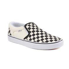 bf404ddd0c Vans Asher Men s Checker Skate Shoes