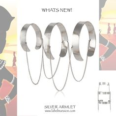 #WhatsNew at www.labelmansion.com - Silver Armlet fills your entire arm with elegance and uber style. One of the most stylish piece that will make you stand out in the crowd. Shop now at http://www.labelmansion.com/pat-31.html #labelmansion #jewellery #armlet #whatsnew #newarrivals #shoponline #india
