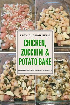 Chicken, Zucchini, and Potato Bake - Everyday Wellness