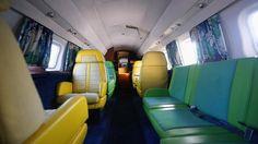 The 'Lisa Marie' jet-inside-designed by Elvis!