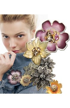 Alexis Bittar Encrusted Sunflower Pin (Nordstrom Exclusive) | Nordstrom