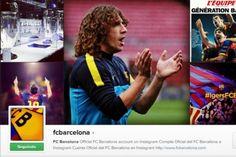 Notícias»Internet  Barcelona lança conta no Instagram