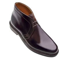 If I had the money, I would definitely rock these Alden cordovan leather boots.