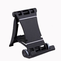 Fashion Black Desk Plastic Solid Stand Hard Carrier Holder for iPhone 4S iPad 2 3 -- You can get additional details at the image link.