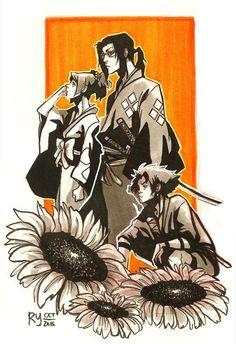 Corpse Party, Manga Art, Manga Anime, Anime Art, Cowboy Bebop, Oni Samurai, Anime Tattoos, Estilo Anime, Cool Animations