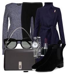 Untitled #4748 by beatrizvilar on Polyvore featuring Air Jumper by Scaglione, Ted Baker, Emilio Pucci, Loeffler Randall, Proenza Schouler, Baume & Mercier, CÉLINE and MAC Cosmetics