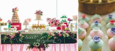 Sweet As Spring Dessert Table For Breast Cancer Awareness