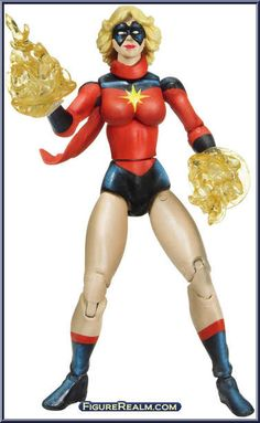 Ms. Marvel (Classic) from Marvel Universe - Fury Files - Wave  3 manufactured by Hasbro [Loose]