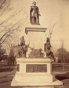 Chief Joseph Brant Memorial, Brantford,Canada, Ontario, 1886