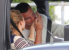 It's definitely back on: Hayden Panettiere received an affectionate kiss on her hand former her former flame Wladimir Klitschko