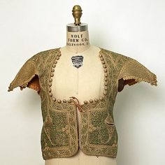 Non-Western Historical Fashion - Jacket Early 19th century Algeria