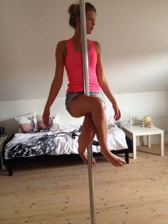 Me and my pole!
