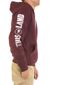Be warm. Be comfortable—in style. Get this classic This Land Hoody. $48