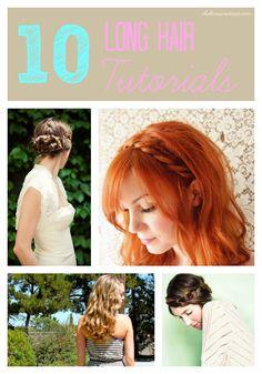 10 Easy Long Hair Ideas - The Benson Street #hair