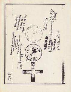 Joseph Beuys, mail-art