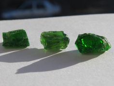 Diopside stones Fossils, Natural Stones, Minerals, Stud Earrings, Gemstones, Rocks, Gems, Stud Earring, Fossil