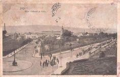 Iasi - 1914 Vintage Photographs, Romania, Paris Skyline, Past, Vintage World Maps, Architecture, Travel, Arquitetura, Past Tense