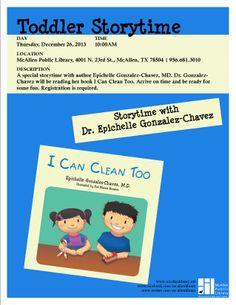 Toddler Storytime. Dec 2013, MPL Children's.