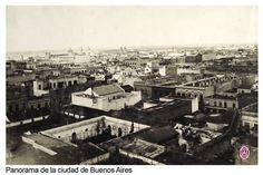 Panoramica de la ciudad de Buenos Aires - Archivo General de la Nacion