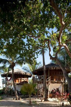 Pousada Vila Kalango Jericoacoara - As charmosas palafitas da Vila Kalango . The charming Vila Kalango's palafitas. http://vilakalango.com.br
