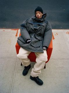 Martine Rose Brings Blown-Out Proportions and Streamlined Details to Iconic Napapijri Outerwear - Fashion Hip Hop, Collection Capsule, Fashion Photography Inspiration, Oversized Jacket, Mode Inspiration, Design Inspiration, Black Men, Editorial Fashion, Work Wear