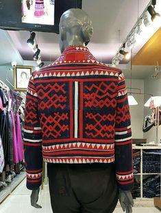 เสื้อคลุมใยกัญชงเขียนเทียนปักม้งby SIRINI Filipiniana, Christmas Sweaters, Modern, Fashion, Moda, Trendy Tree, Fashion Styles, Christmas Jumper Dress, Fashion Illustrations