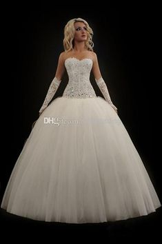 Custom 2014 Barbie Ball Gown Wedding Dresses Strapless Rhinestone Appliques Beaded Corset Wedding Gowns Angel Bridal Dresses Free Shipping