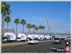 Sign Trucks for Comic Con 2012