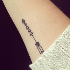 small arrow - inner arm for girls