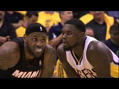 Lance Stephenson blows in LeBron James' ear (Game 5, ECF 2014) - YouTube