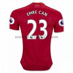 Billige Fodboldtrøjer Liverpool 2016-17 Emre Can 23 Kortærmet Hjemmebanetrøje