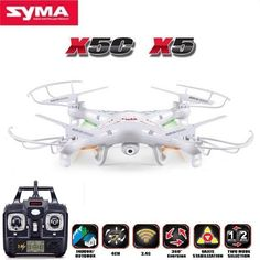 RC Drone 6-Axis Remote Control Helicopter Quadcopter With 2MP HD Camera or X5 RC Drone No Camera