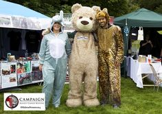 June 28th & 29th we had a stall at the Hopetoun Horsetrials to raise awareness about #cannedhunting. Here is #ScotlandForElephants, #BaxterBear and #TeamRoar!