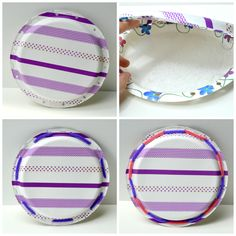 Paper plate tambourine craft - comes together in minutes!