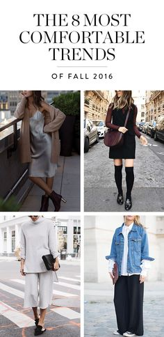 Love fashion as much as you love being comfortable?  These trends are nor only on point, they're super comfortable, too. Let's go shopping.