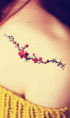 New Tattoo For Women Bird Branches Ideas - tattoo ideas/tattoo motivation/piercings - cicatrice Vine Tattoos, Cover Up Tattoos, Body Art Tattoos, Cool Tattoos, Thigh Tattoos, Tattoos For Women Flowers, Foot Tattoos For Women, Scar Tattoo, Tattoo Hals