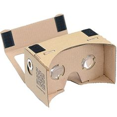 Cardboard 3d Vr Virtual Reality DIY 3D Glasses with NFC and Headband for 3557 Inch all brands of Mobiles Smartphones or notes for 3D VideoMovies  Games -- More info could be found at the image url.Note:It is affiliate link to Amazon.