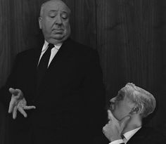 Listening the Master. Alfred Hitchcock teaching me how to make movies.