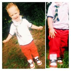 Red denims. kids fashion. Toddler fashion. Nike. Jordans. Toddler hairstyle. Baby clothes. Baby boy fashion apparel outfit