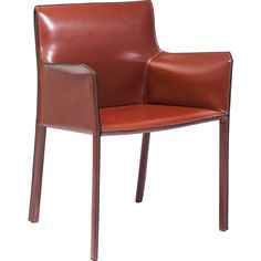 Chair with Armrest Fino Brown - KARE Design