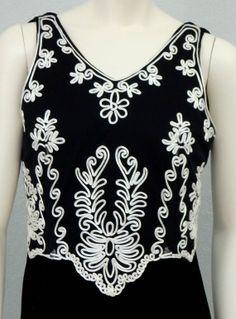 Vintage 80s Long Black Velvet Dress Scott by SprightlyVogue