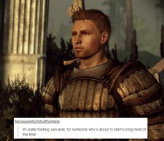 welcome to the mage hell spiral — Dragon Age: Origins + text posts I realized I...