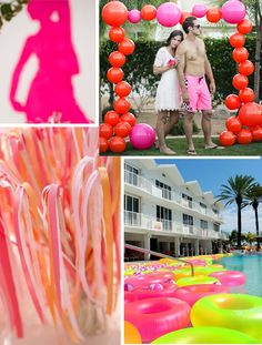 Dreaming of a PINK Summer! Pool Party Inspiration Board!