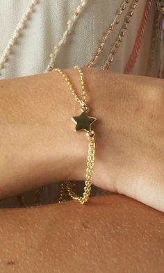 GOLD CHUNKY LINK BRACELET | PUBLIK #jewelry #bracelet (via http://fb.com/pinwoot)