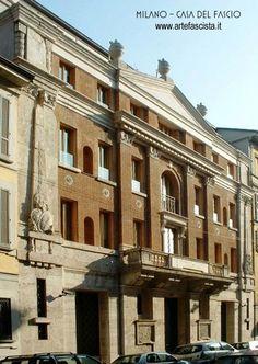 FASCISMO - ARCHITETTURA - ARTE -, Casa del Fascio, Milano