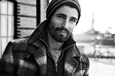 Beard Men - These eyes. Mens fashion, grooming and trend. I Love Beards, Beard Love, Moustaches, Gorgeous Men, Beautiful People, Hello Beautiful, Le Male, Beard Tattoo, Beard No Mustache