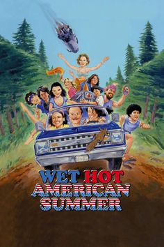 Wet Hot American Summer Poster - Fonts In Use Good Funny Movies, Good Comedy Movies, Good Movies To Watch, Top Movies, Action Movies, Amy Poehler, Quotes Thoughts, Life Quotes Love, Paul Rudd